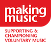 making music, supporting and championing voluntary music